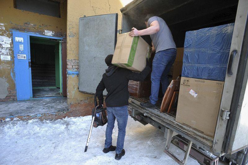 Жильцы Московской, 14, покидают дом